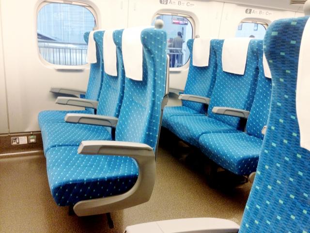 授乳|赤ちゃん連れ|新幹線座席