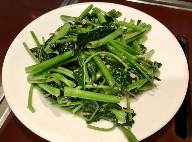 台湾|おいしいもの|空芯菜
